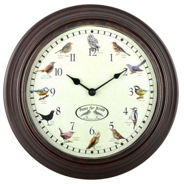 Clock with Bird Sounds