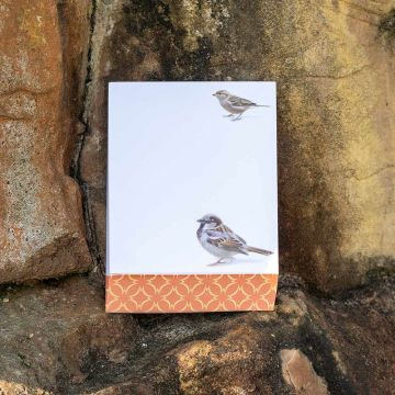 Sparrow Notepad by Elwin van der Kolk