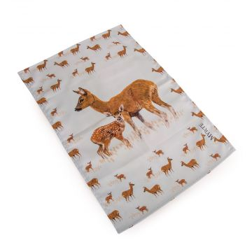 Myrte Deer Tea Towel