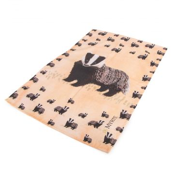 Myrte Badger Tea Towel