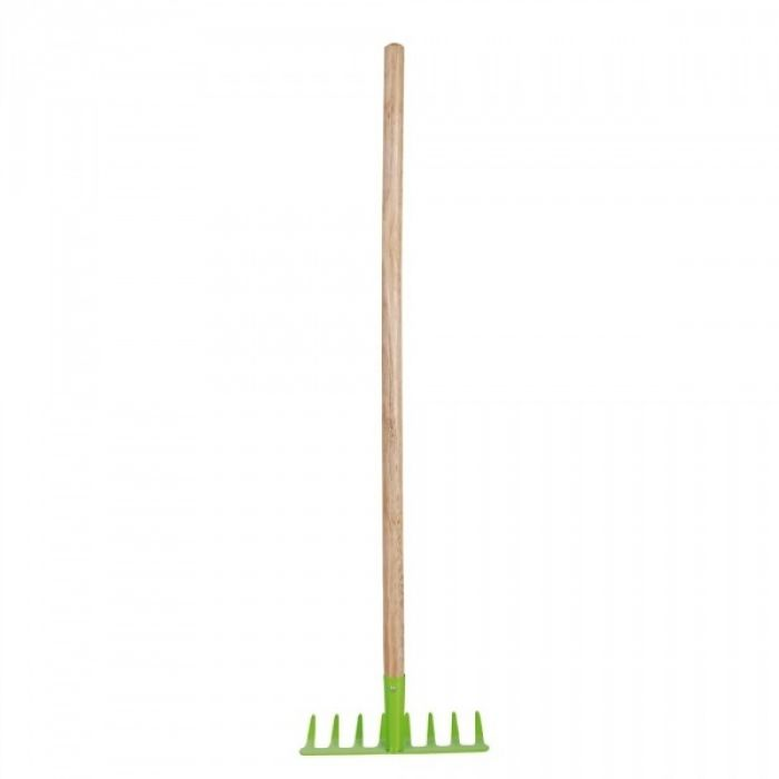 Child's Green Rake