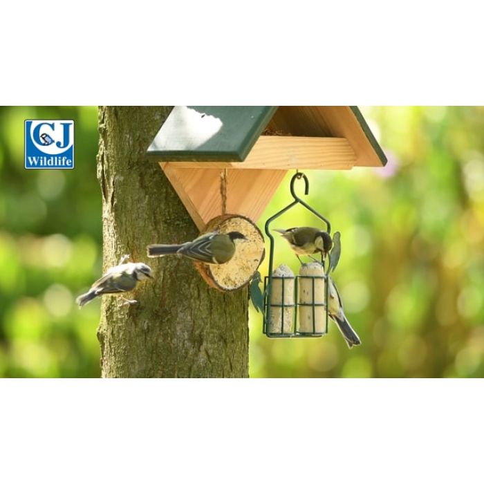 Metal Suet Log Feeder