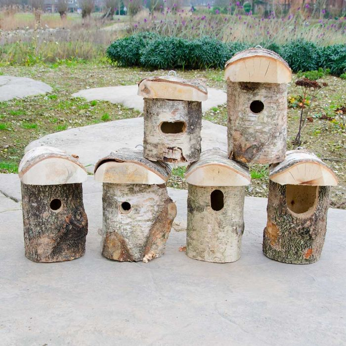 Stockholm Oval Hole Nest Box