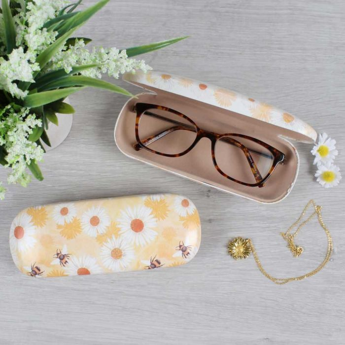 Bee & Daisy Glasses Case