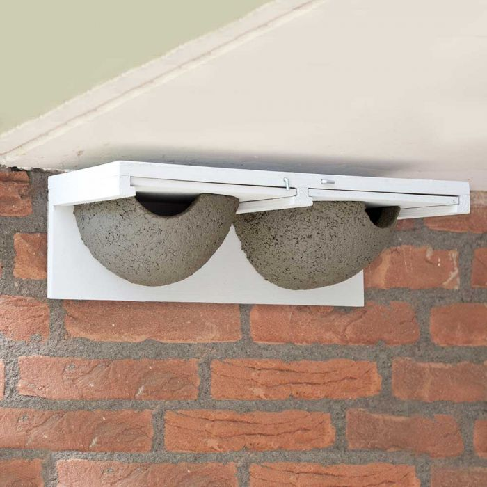 Slide-out Double House Martin Nest