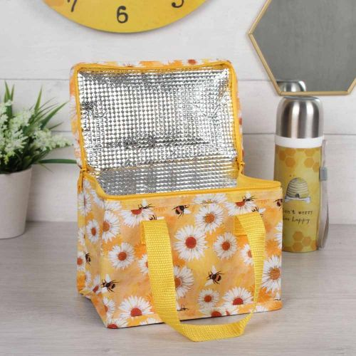 Daisy & Bee Cooler Bag - Made from Recycled Drinks Bottles