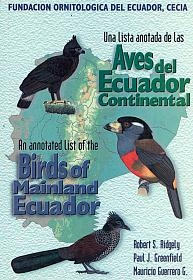 Image of An Annotated List of the Birds of Mainland Ecuador