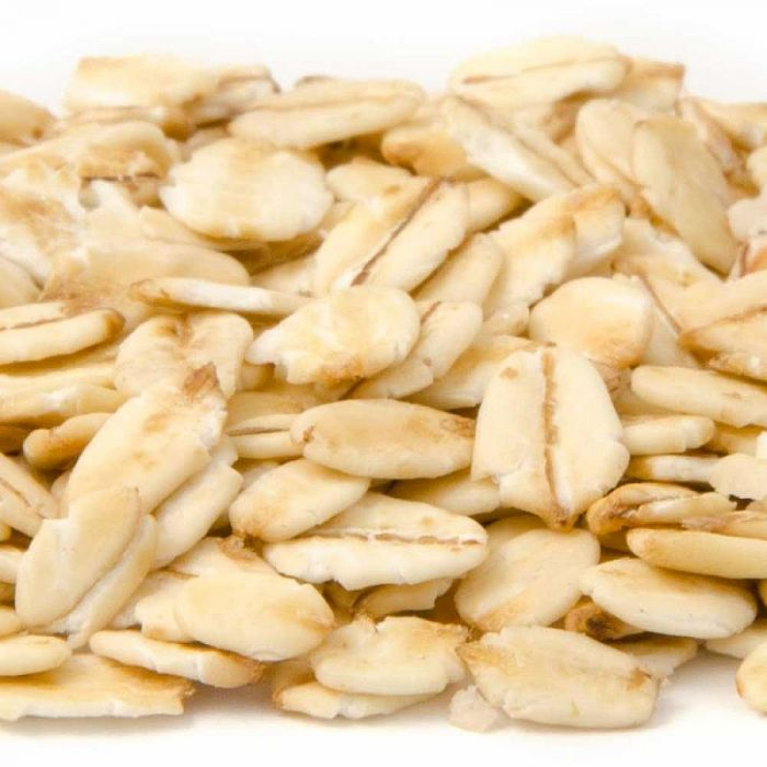 Naked Rolled Oats
