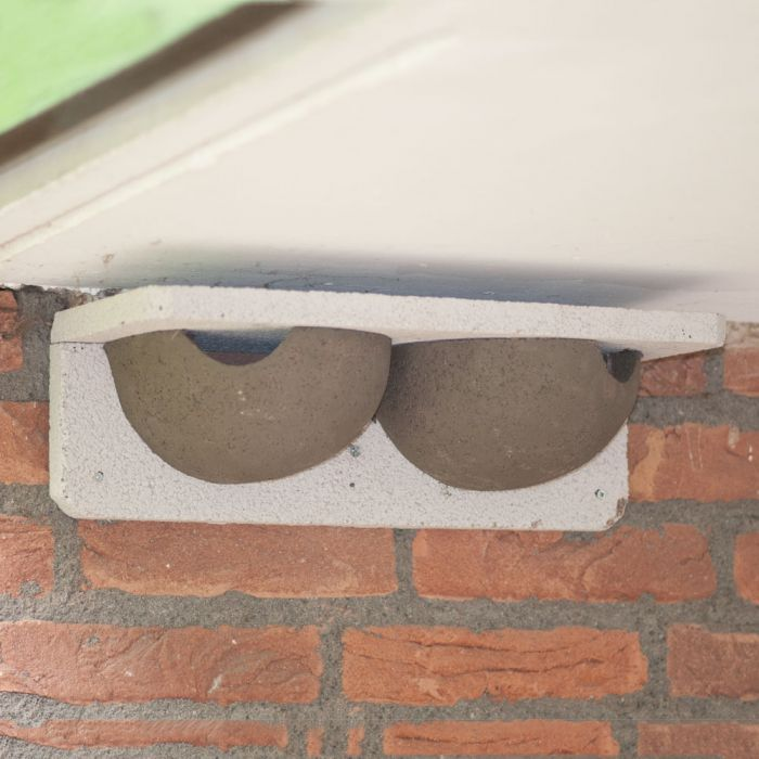WoodStone® House Martin Nest - Double