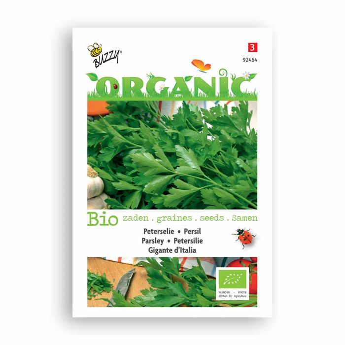 Buzzy® Organic Parsley - Gigante D'Italia