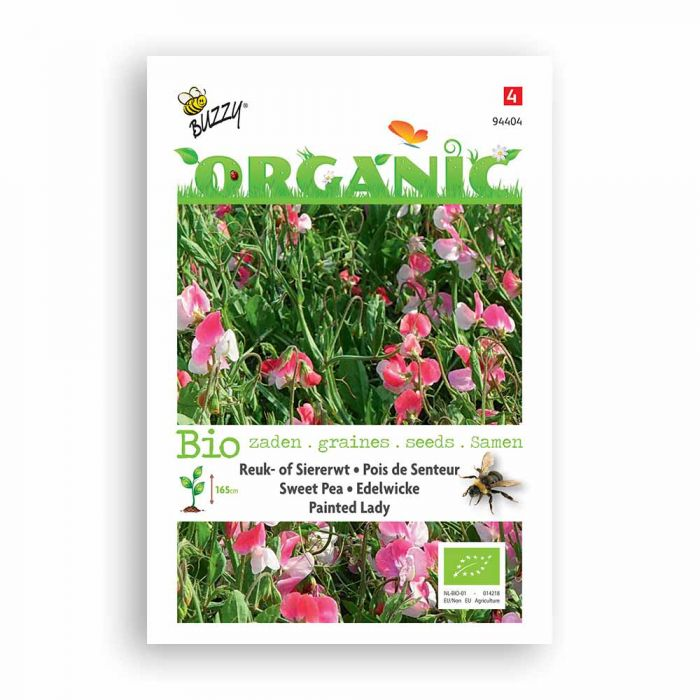 Buzzy® Organic Sweet Pea - Painted Lady (BIO)