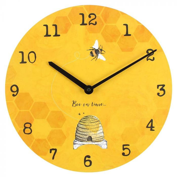 Bee on Time Clock