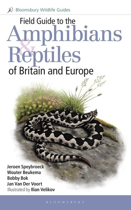 Field Guide to the Amphibians and Reptiles of Britain and Europe Book