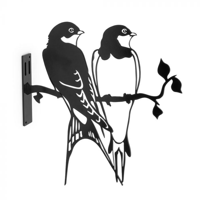Metal Silhouette - Swallow