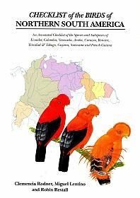 Checklist of the Birds of Northern South America