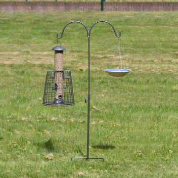 CJ's Feeder Pole Double - Grey