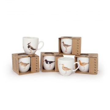 Elwin Van der Kolk Meadow Birds Mug Set