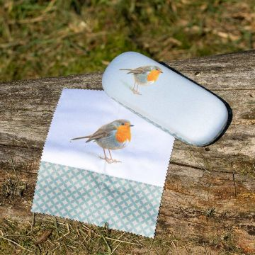 Robin Glasses Case by Elwin van der Kolk