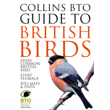 Collins BTO Guide to British Birds Book