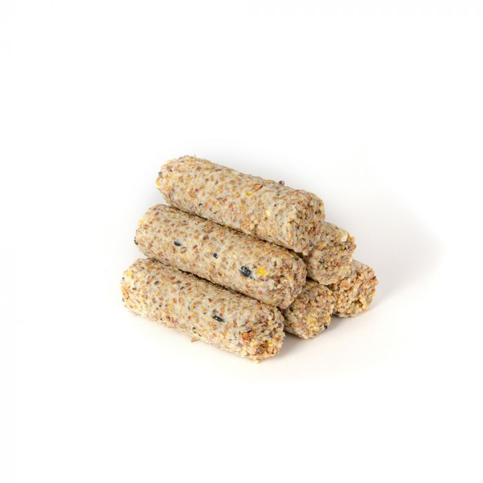 Suet Logs with Seeds