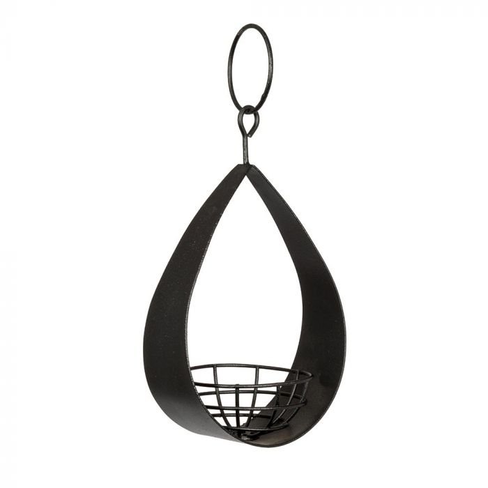 Canberra Fat Ball Feeder - Black
