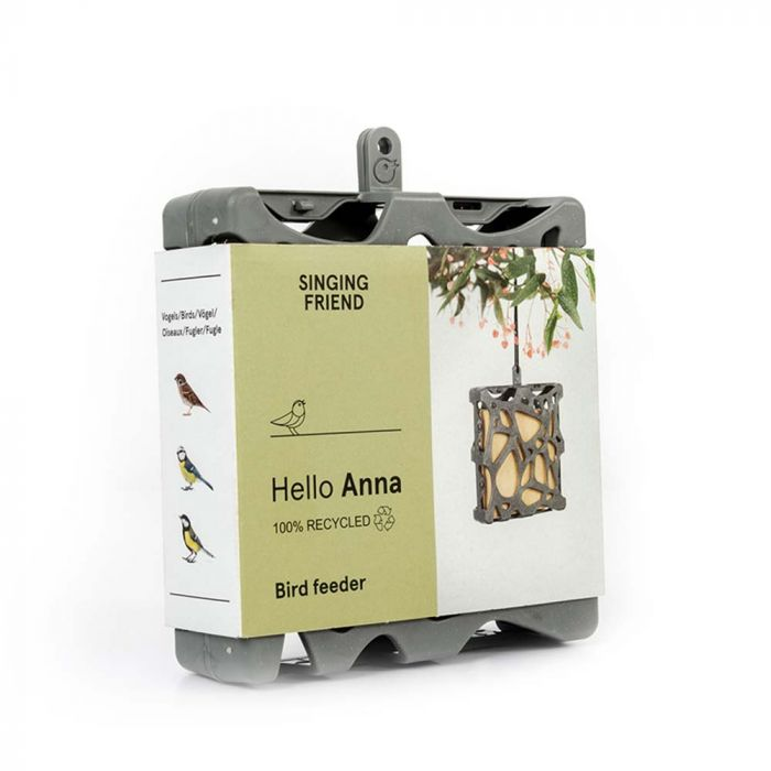 SingingFriend Fat Square Feeder Anna - 100% Recycled