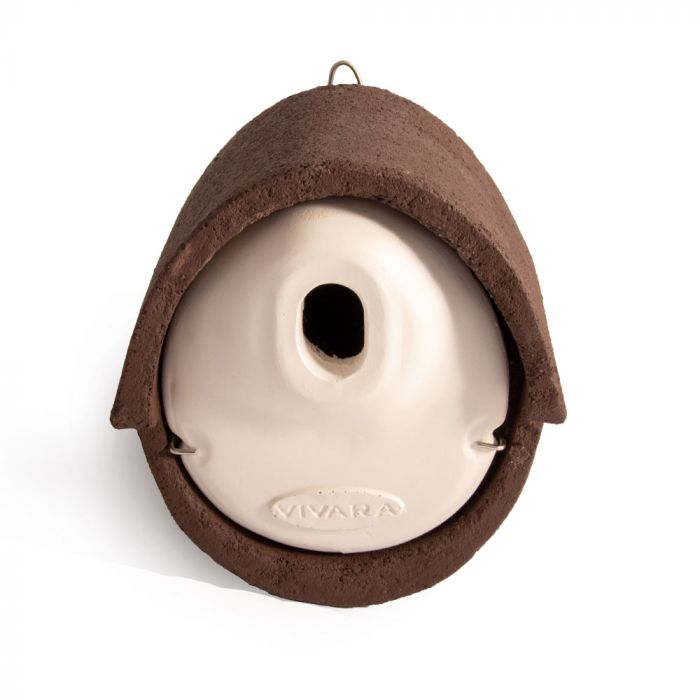 WoodStone® Alicante 32mm Oval Hole Nest Box (Brown)