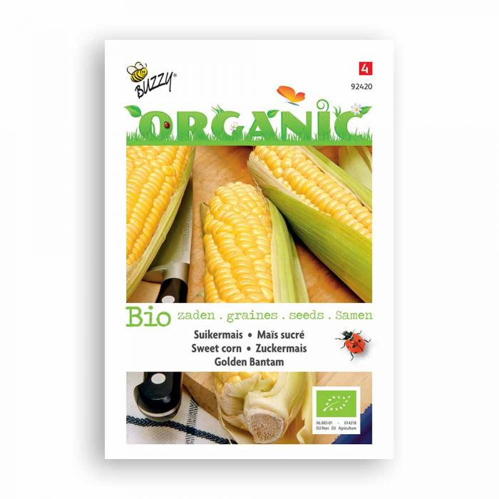 Buzzy® Organic Sweet Corn - Golden Bantam