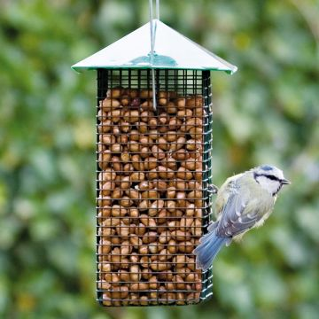 Green Peanut Feeder Cage