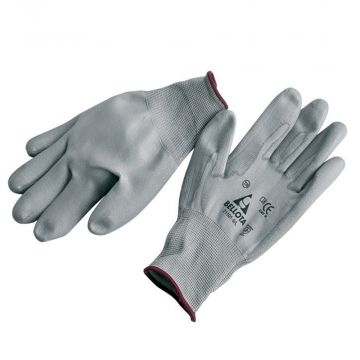 Grey Gardening Gloves