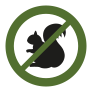 Green Squirrel Icon